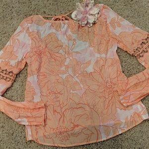 Guess floral print top